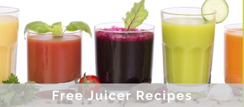Free Juicer Recipes